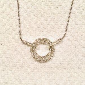 Swarovski Pave Crystal Irina Pendant Necklace
